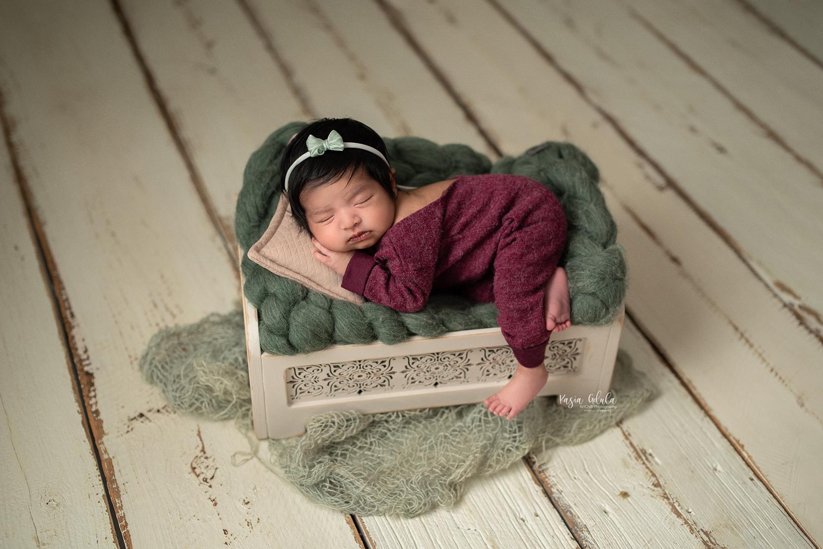 newborn photographer UK Yorkshire Scarborough